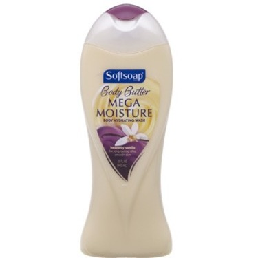 SoftSoap Body Butter Moisturizing Wash Heavenly Vanilla