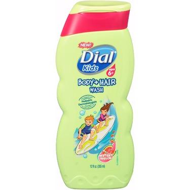 Dial Kids Body + Hair Wash, Watery Melon