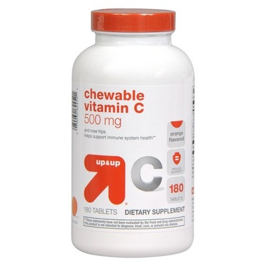 up&up Vitamin C Chewable Tablets