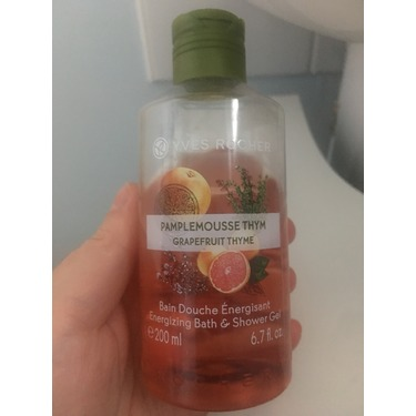 Yves Rocher Grapefruit Shower Gel