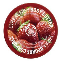 The Body Shop Body Butter in Strawberry
