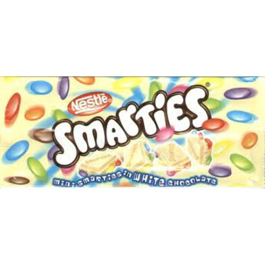 Smarties Bar White Chocolate