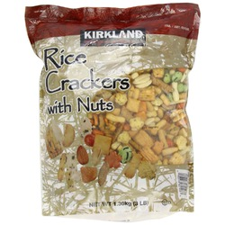 Kirkland Rice Crackers with Nuts