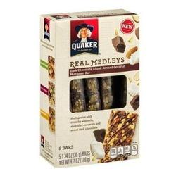 Quaker Real Medleys MultiGrain Fruit & Nut Bar