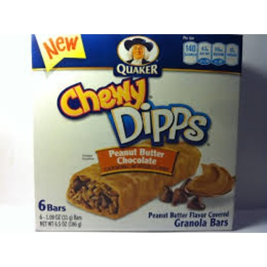 Quaker Chewy Dipps in Peanut Butter Chocolate