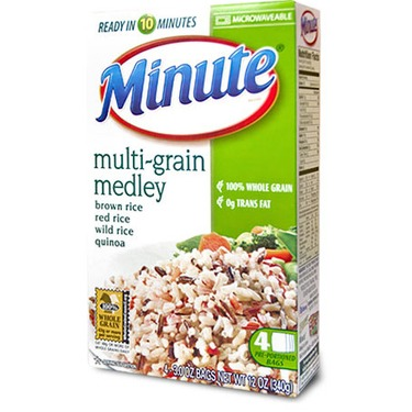 MINUTE RICE -MULTIGRAIN MEDLEY