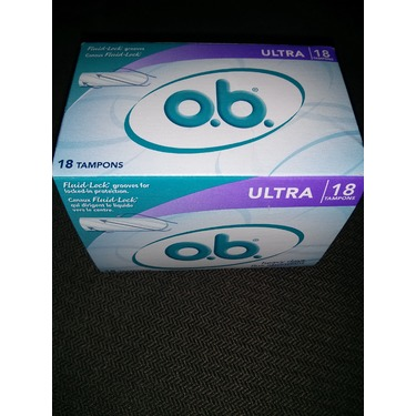 o.b. Ultra Tampons