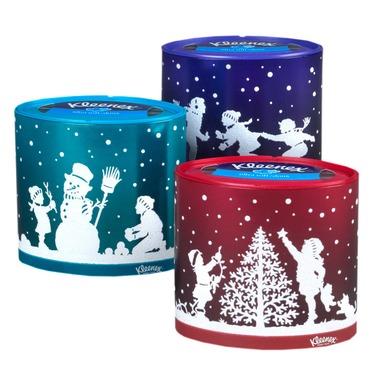 Kleenex Holiday Tissue Boxes