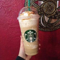 Starbucks Caramel Flan Frappucino