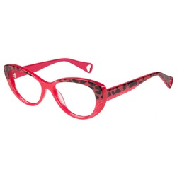 Betsey Johnson Pink Glasses