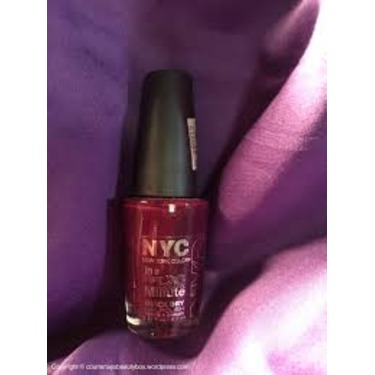 NYC Manhattan Nail Polish