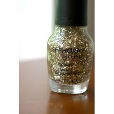 Sephora Nail Polish in Only Gold For Me