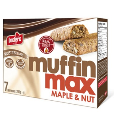 Leclerc MuffinMax Maple & Nut