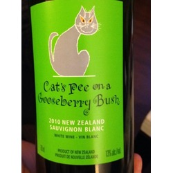 Cats Pee On A Gooseberry Bush Sauvignon Blanc