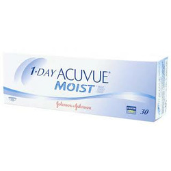 Acuvue 1 day Moist Contacts