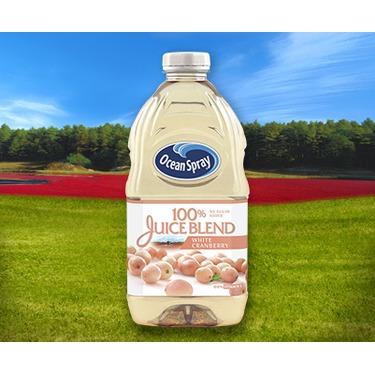 Ocean Spray 100% Juiceblend White Cranberry