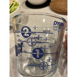 Pyrex 2 Cup Measuring Cup