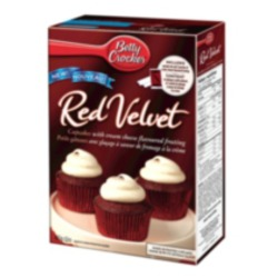 Betty Crocker Melange in Red Velvet