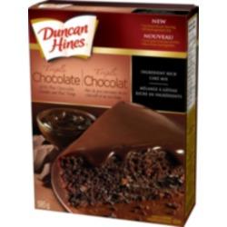 Duncan hines melange a gateau au chocolat