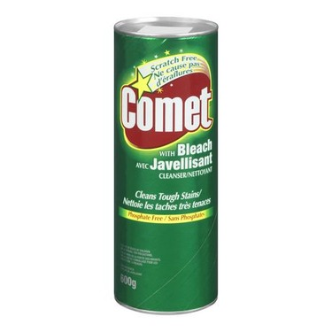 Comet with Bleach