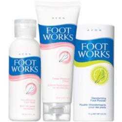 Avon Foot Works Trio