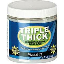 Americana Triple Thick Brilliant Brush On Gloss Glazz