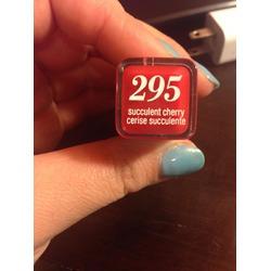 "CoverGirl Lipstick in 295 'Succulent Cherry"""