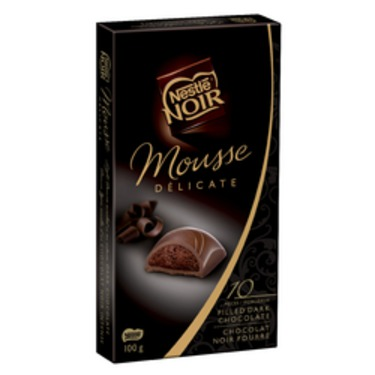 Nestle NOIR Mousse Delicate Dark Chocolate