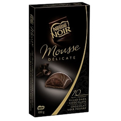 Nestle NOIR Mousse Delicate Dark Chocolate