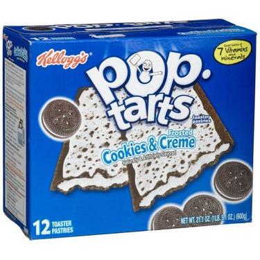 Kellogg's Pop Tarts in Cookies and Cream