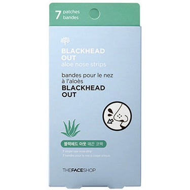 The Face Shop Blackhead Out Charcoal Nose Strip