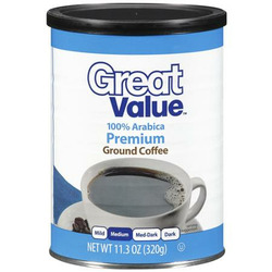 Great Value Coffee