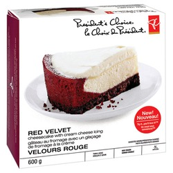 President's Choice Red Velvet Cheesecake
