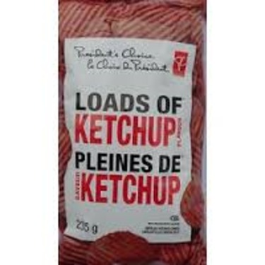 President's Choice Loads of Ketchup Chips