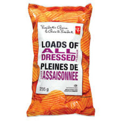 President's Choice Loads of All Dressed Chips