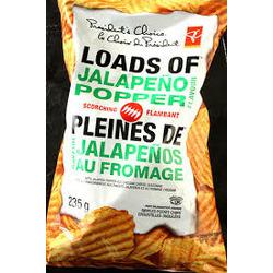 President's Choice Loads of Jalapeno Popper Chips