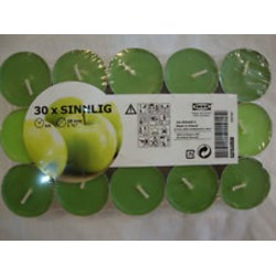 Ikea Sinnlig Green Apple Candles