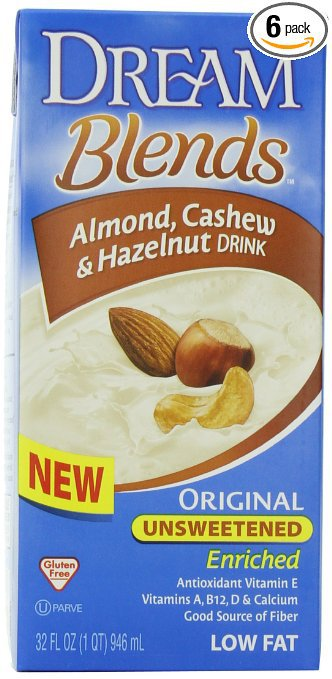 Dream Blends Almond, Cashew & Hazelnut Drink reviews in Non-Dairy ...