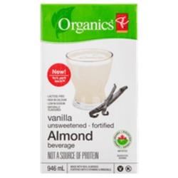 PC Organics Almond Beverage - Vanilla