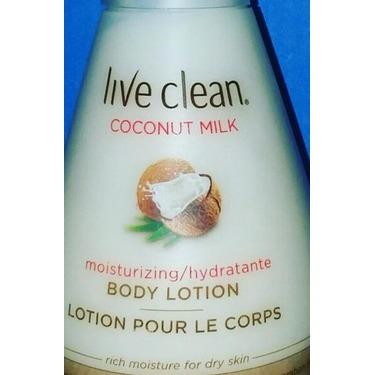 Live Clean Coconut Milk Moisturizing Body Lotion