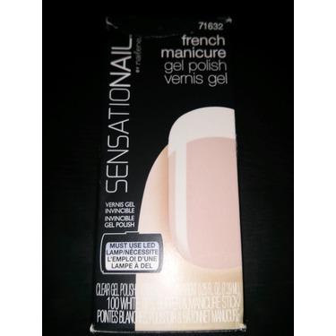 SensatioNail French Manicure Gel Polish