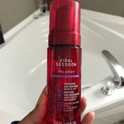 Vidal Sassoon Pro Series Foaming Air Mousse