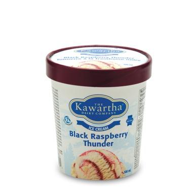The Kawartha Dairy Company Black Raspberry Thunder