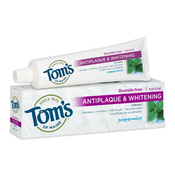 Tom's of Maine Antiplaque & Whitening Fluoride-Free Toothpaste