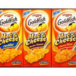 Goldfish Mac & Cheese