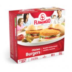 Flamingo Chicken Burgers