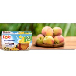 Dole Diced Peaches