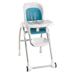 Evenflo Modern 300 High Chair, Trivet Blue