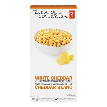 President's Choice White Cheddar Macaroni and Cheese