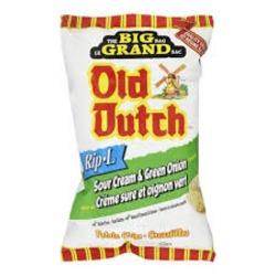 Old Dutch Rip-L Sour Cream & Green Onion